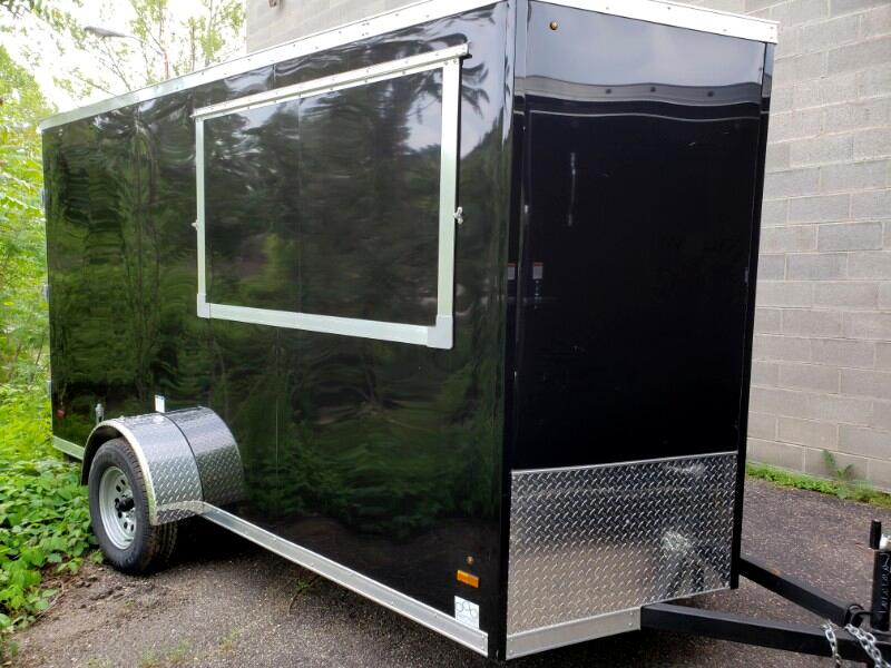 2020 US Cargo 6x12 ULAFT, Concession Trailer, 6'' Extra Height