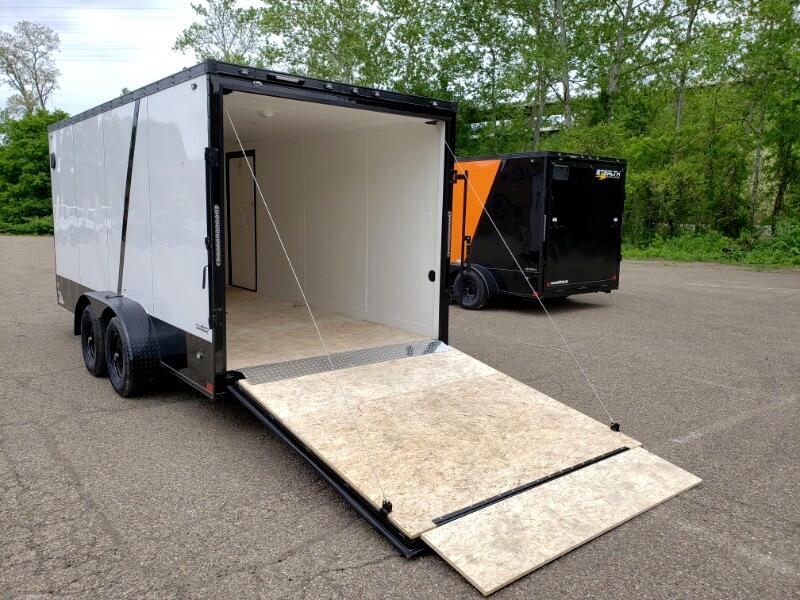 2020 Stealth 7x16 Titan, 6'' Extra Height, Ramp Door
