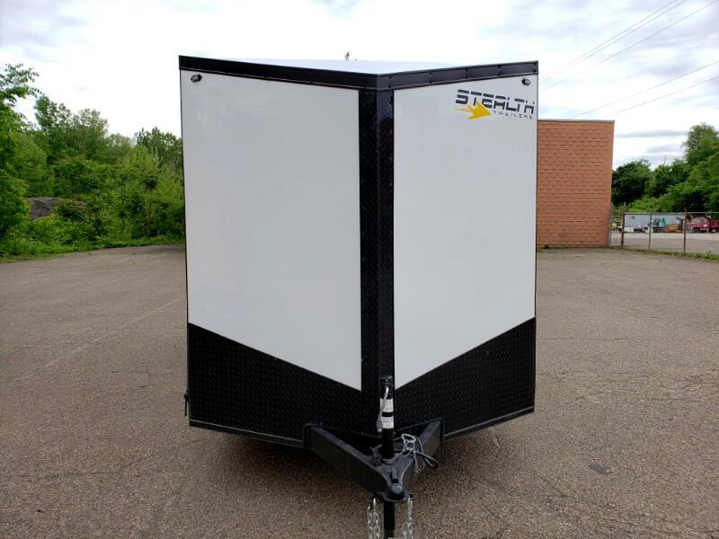 2020 Stealth 7x16 Titan, 6'' Extra Height, Ramp Door
