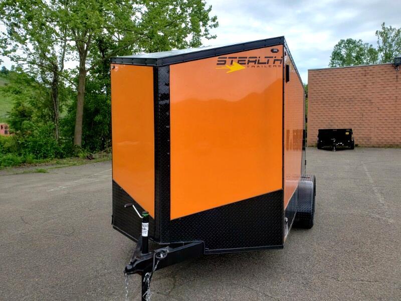 2020 Stealth 7x14 Titan, 6'' Extra Height, Ramp Door