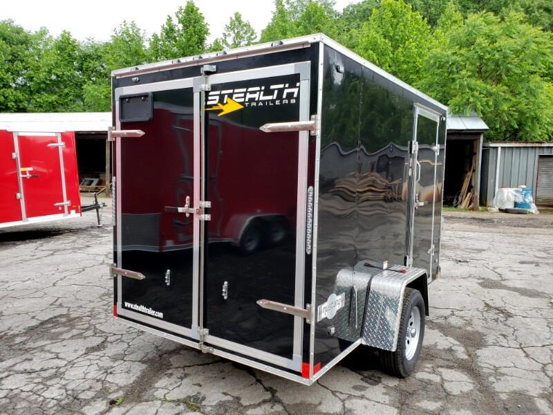 2020 Stealth 6x10 Mustang, Barn Doors