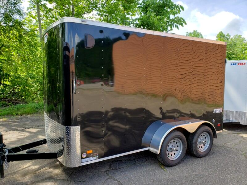 2020 Bravo Trailers 6x12 Scout, 6'' Extra Height, Barn Doors, Tandem Axle