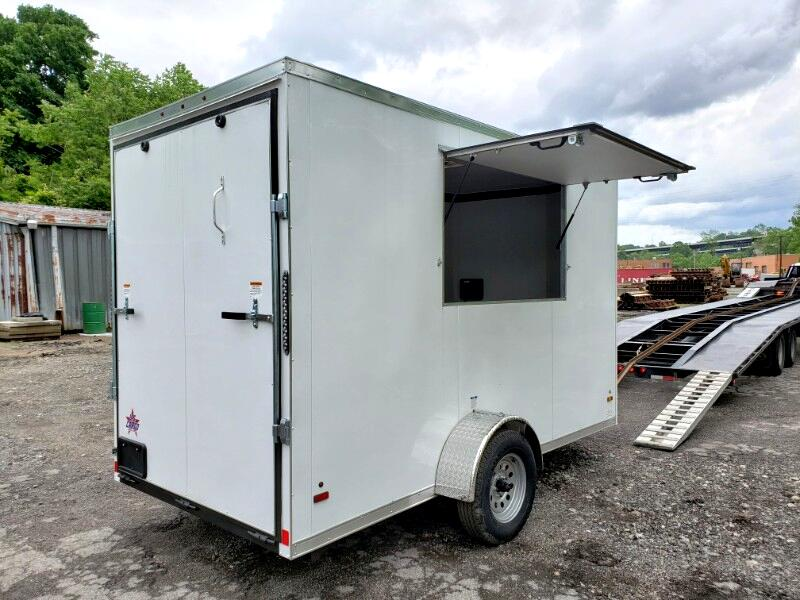 2020 US Cargo 6x12 ULAFT Concession Trailer, 12'' Extra Height, Ramp