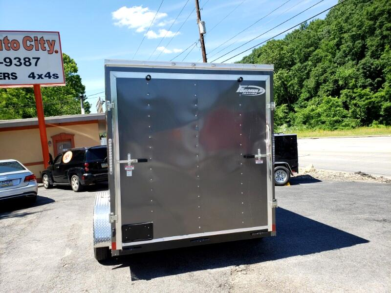 2020 Formula Trailers 7x12 Conquest, 12'' Extra Height, Ramp Door, 7000 GVW,