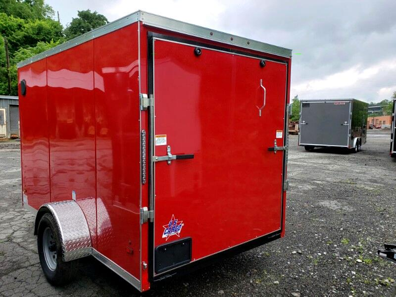 2020 US Cargo 6x10 ULAFT, Ramp Door