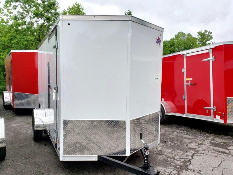 2020 US Cargo 6x12 ULAFT, 6'' Extra Height, Barn Doors