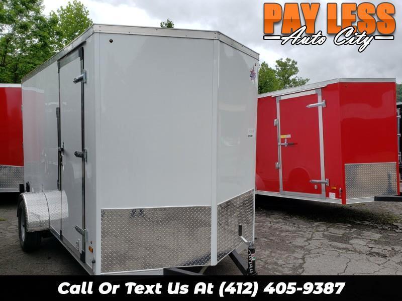 2020 US Cargo 6x12 ULAFT, 6'' Extra Height, Barn Doors