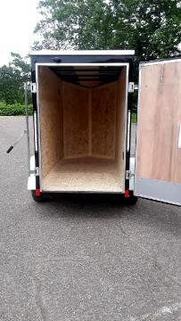 2020 Discovery 4x8 Rover ET, Barn Door, 18'' Extra Height