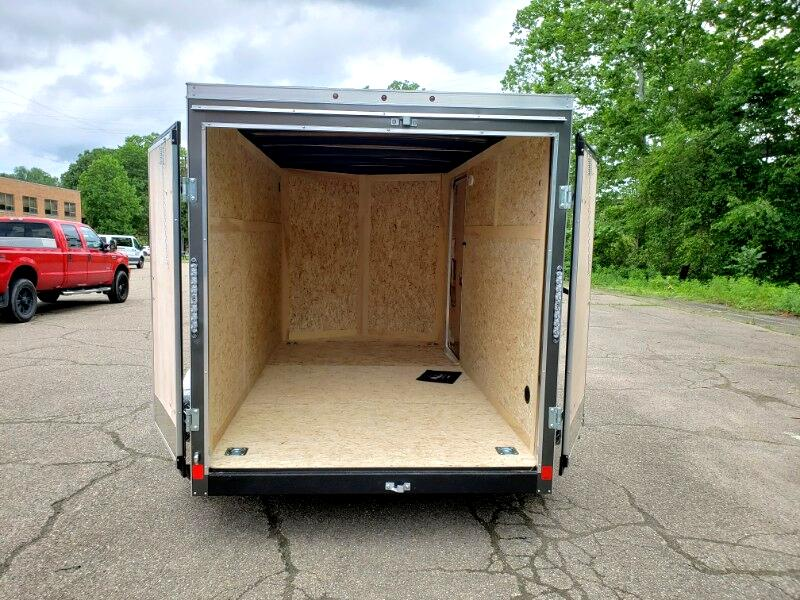 2020 US Cargo 6x12 ULAFT, Barn Doors, Tandem Axle, 7000 GVW