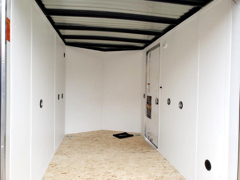 2020 US Cargo 6x10 ULAFT, 6'' Extra Height, Ramp Door