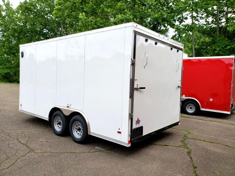 2020 US Cargo 8.5x16 ULAFT, 6'' Extra Height, Ramp Door