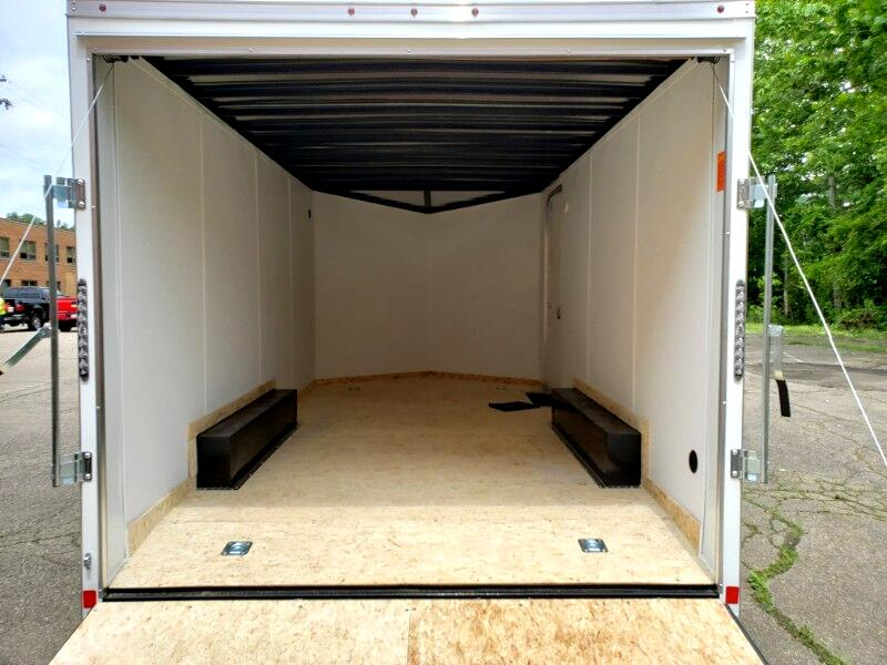 2020 US Cargo 8.5x16 ULAFT, 6'' Extra Height, Ramp Door