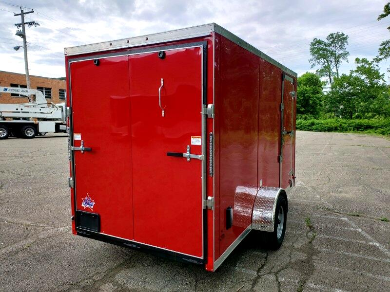 2020 US Cargo 6x12 ULAFT, 6'' Extra Height, Ramp Door
