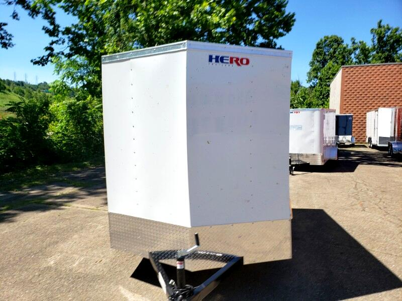 2020 Bravo Trailers 6x10 Hero, Barn Doors