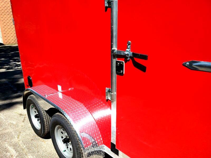 2020 US Cargo 6x12 Ramp Door, 6'' Extra Height, Tandem Axle