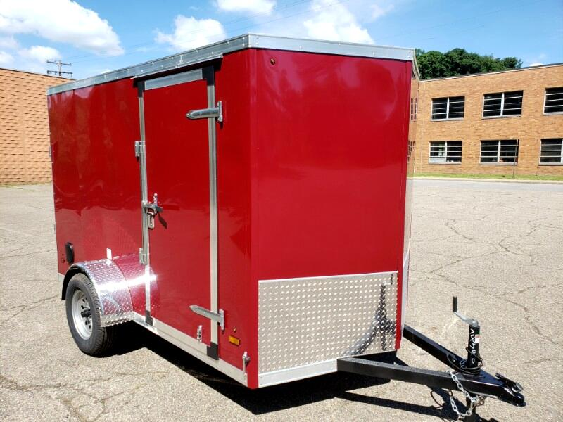 2020 US Cargo 6x10 ULAFT, Ramp Door