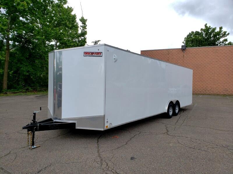 2020 Discovery 8.5x28 Challenger ET, Car Hauler, 9990 GVW