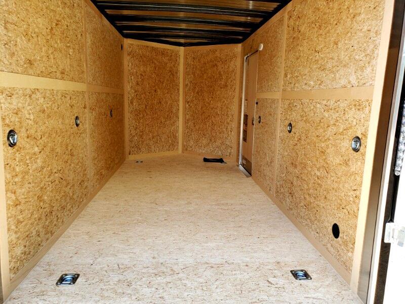 2020 US Cargo 7x14 ULAFT, 12'' Extra Height, Ramp Door