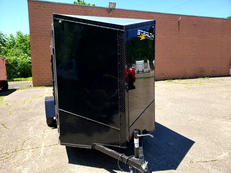 2020 Stealth 6x12 Titan, 6'' Extra Height, Ramp Door