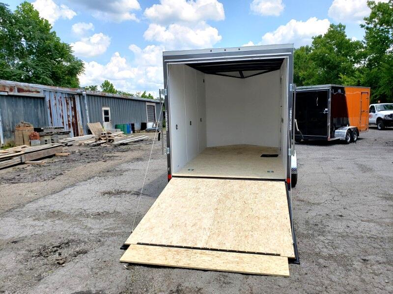 2020 US Cargo 7x12 ULAFT, 12'' Extra Height, Ramp Door
