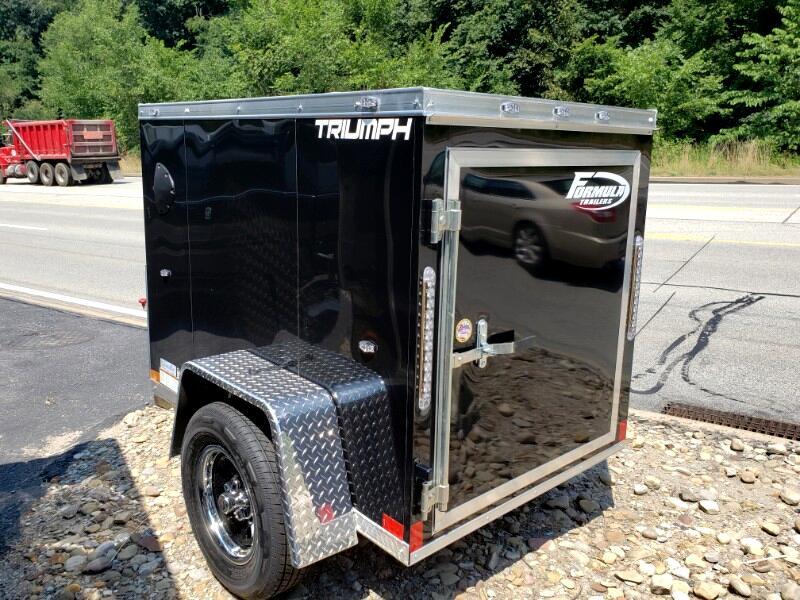 2020 Formula Trailers 4x6 Triumph, Barn Door