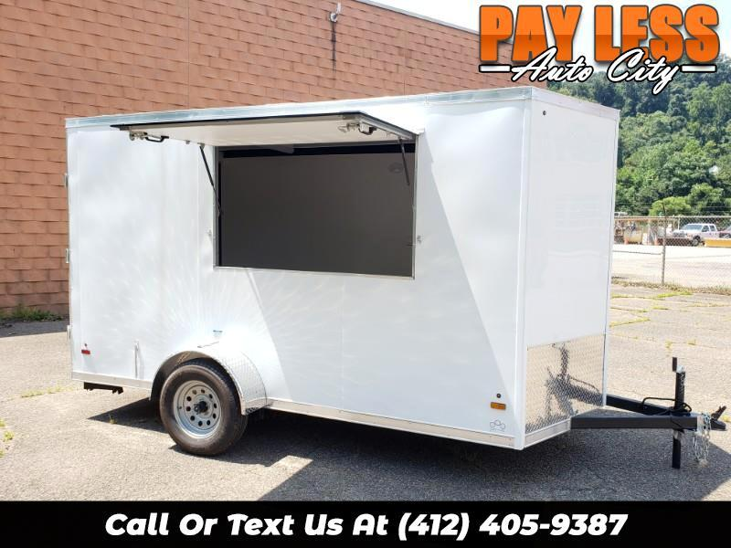 2020 US Cargo 6x12 ULAFT, 6'' Extra Height, Concession Trailer