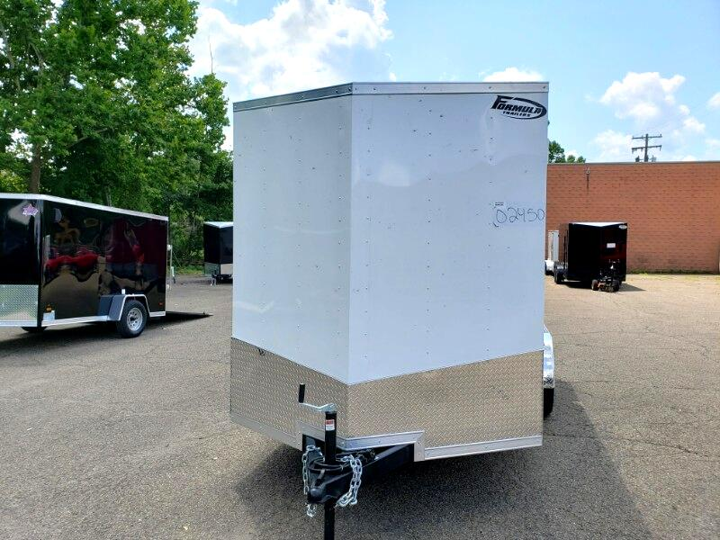 2020 Formula Trailers 7x14 Conquest, 12'' Extra Height, Ramp Door