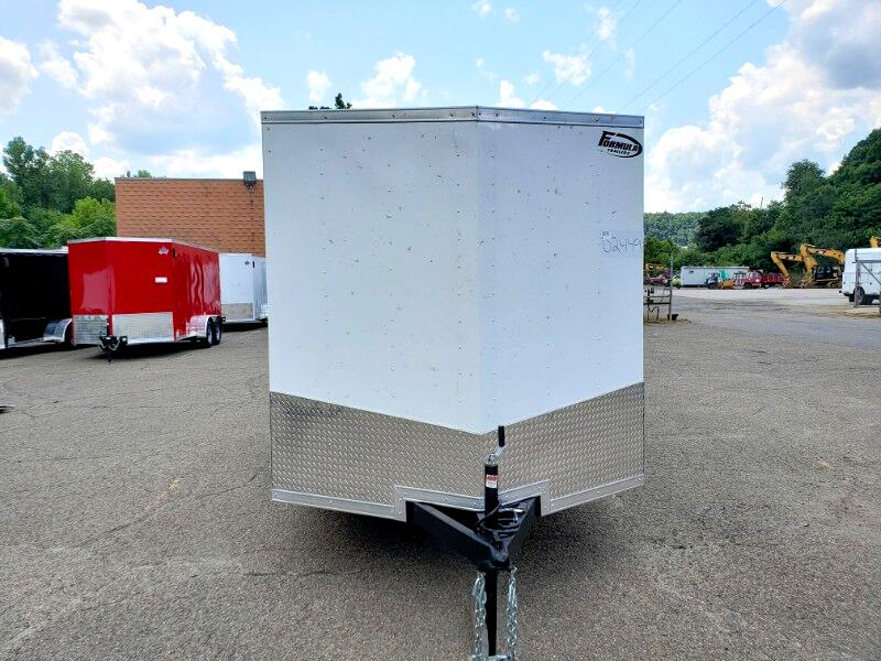 2020 Formula Trailers 7x14 Conquest, 6'' Extra Height, Ramp Door