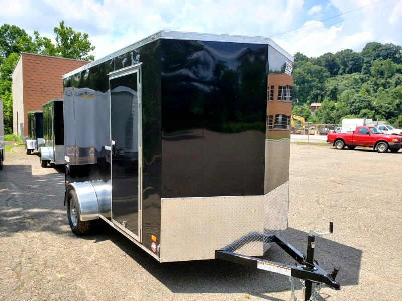 2020 Bravo Trailers 6x12 Scout, 6'' Extra Height, Ramp Door