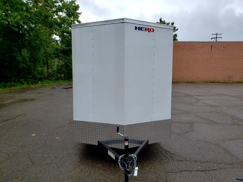 2020 Bravo Trailers 6x12 Hero, 6'' Extra Height, Ramp Door