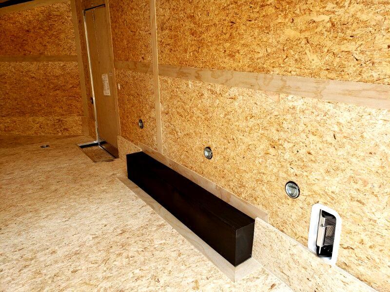 2020 Stealth 8.5x16 Titan, 6'' Extra Height, Ramp Door