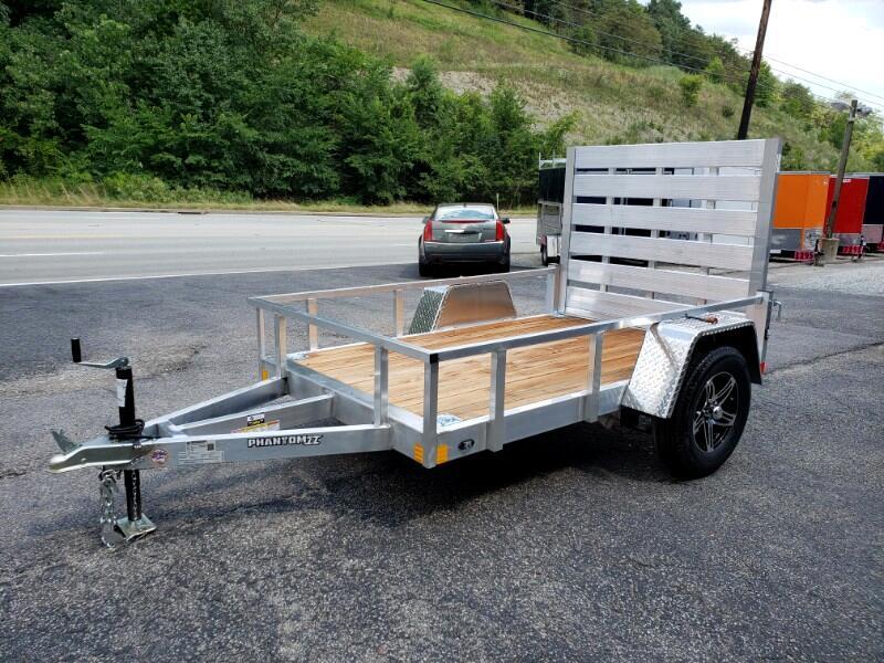2020 Stealth 5x8 Phantom II, Aluminum Utility Trailer