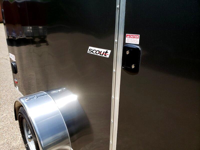 2020 Bravo Trailers 6x12 Scout, 6'' Extra Height, Ramp Door
