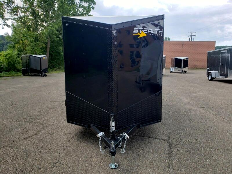 2020 Stealth 6x12 Mustang, Ramp Door