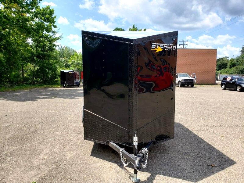 2020 Stealth 6x10 Mustang, 6'' Extra Height, Barn Doors