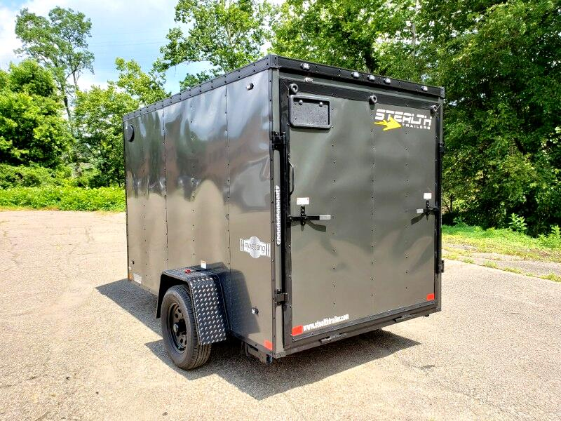 2020 Stealth 6x10 Mustang, Ramp Door