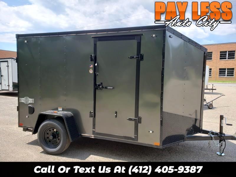2020 Stealth 6x10 Mustang, Ramp Door