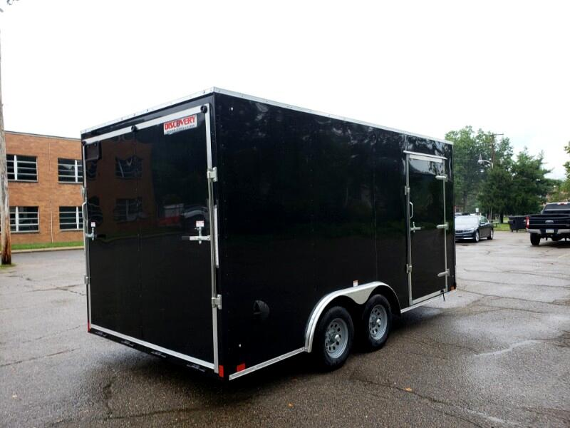 2020 Discovery 8.5x16 Challenger ET, 6'' Extra Height, Ramp Door