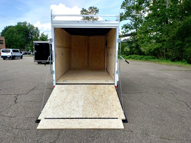 2020 US Cargo 7x14 ULAFT, 6'' Extra Height, Ramp Door