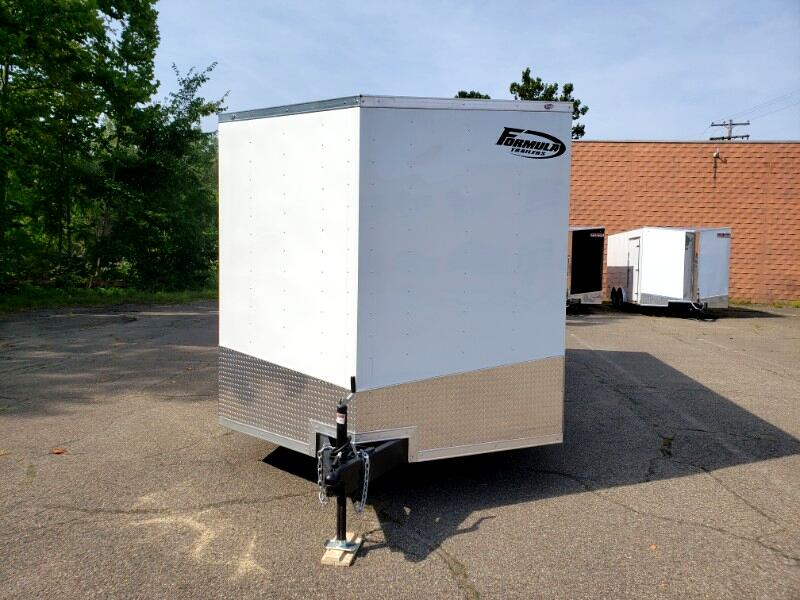 2020 Formula Trailers 8.5x20 Conquest Car Hauler, 6'' Extra Height, 7000 GVW