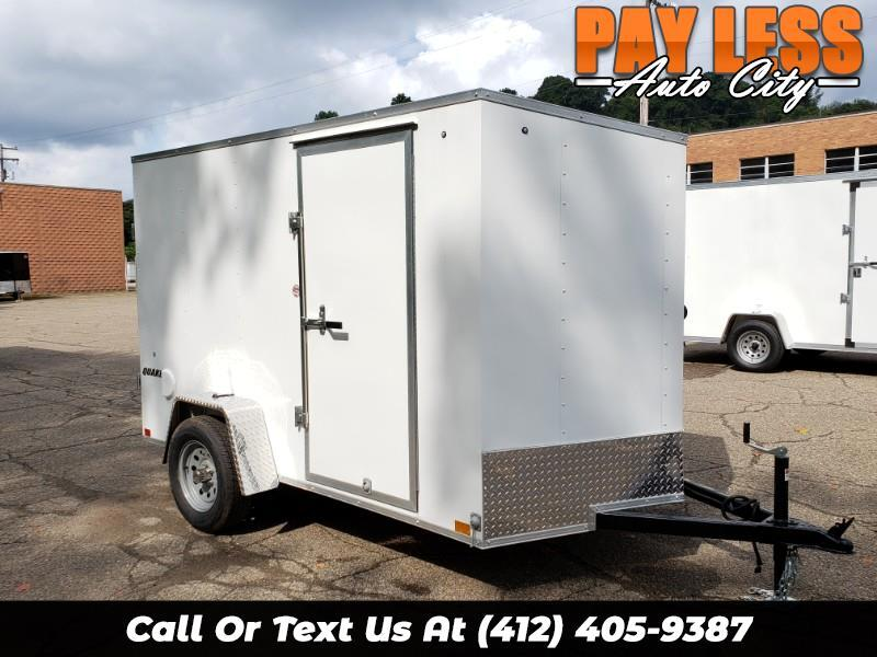 2020 Impact Trailers 6x10 Quake, Ramp Door