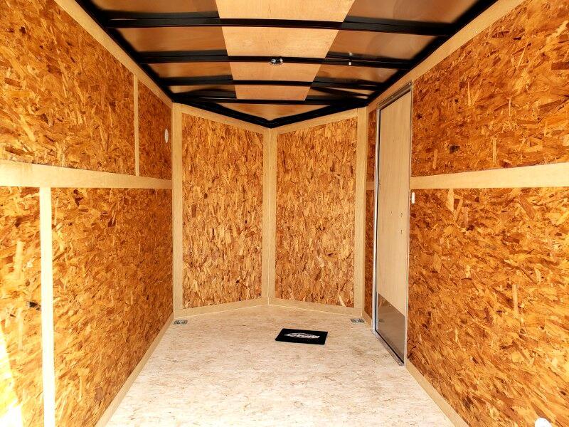 2020 Impact Trailers 6x10 Quake, 6'' Extra Height, Barn Doors