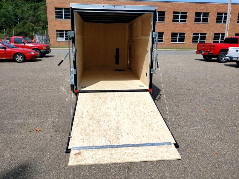 2020 US Cargo 6x12 ULAFT, Ramp Door
