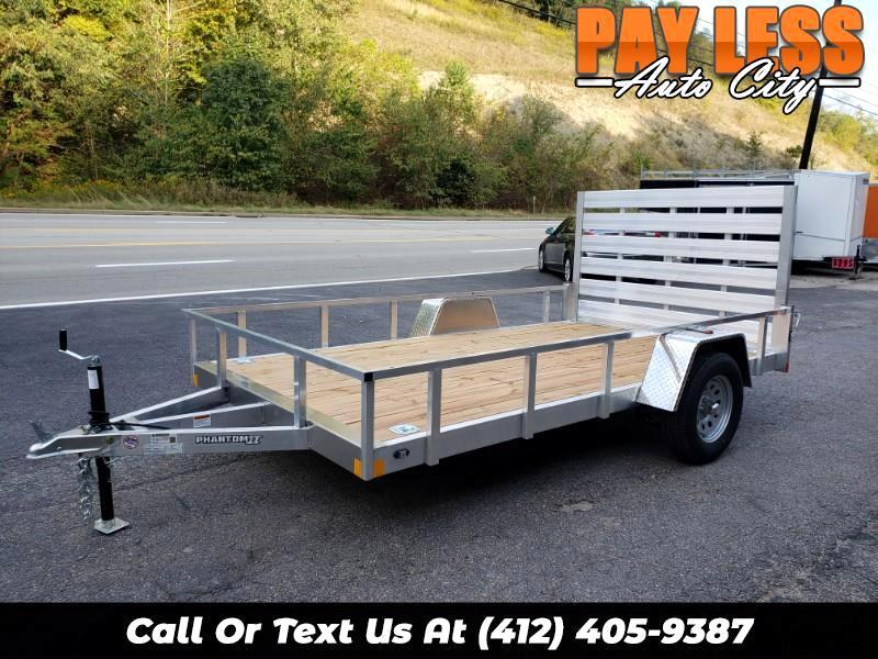 2020 Stealth 6.5x12 Phantom II Aluminum Utility Trailer