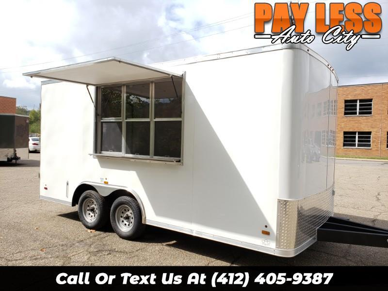 Payless Auto Glass >> Used 2020 US Cargo 8.5x16 ULAFT, 6'' Extra Height, Concession Trailer for Sale in Pittsburgh PA ...