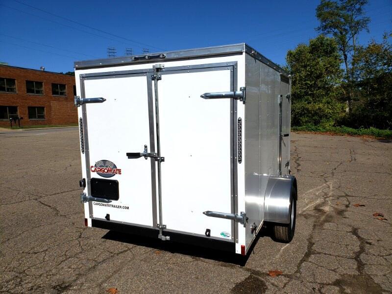 2020 Cargo Mate 6x10 SS, Barn Doors