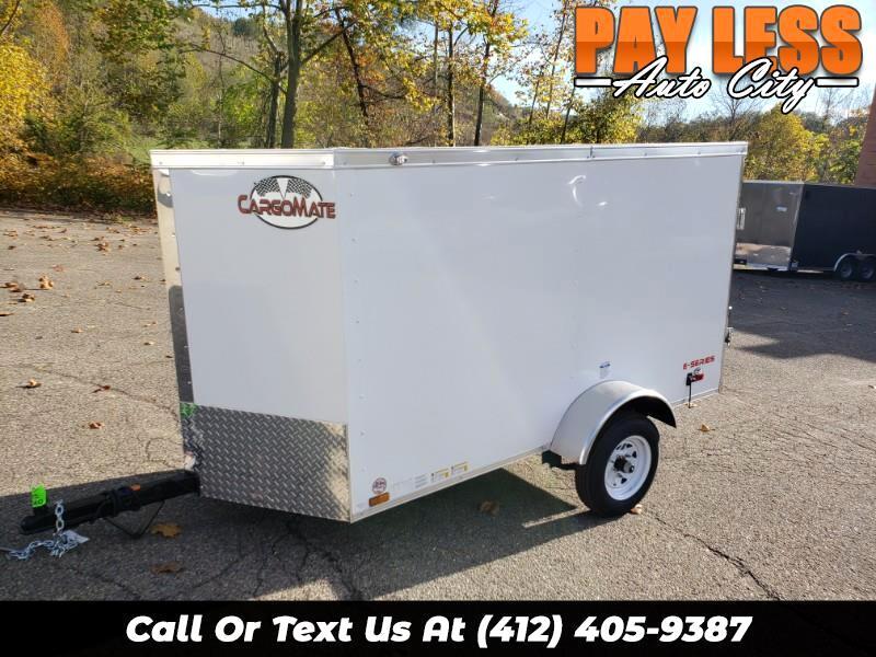 2020 Cargo Mate 4x8 E Series, Barn Door