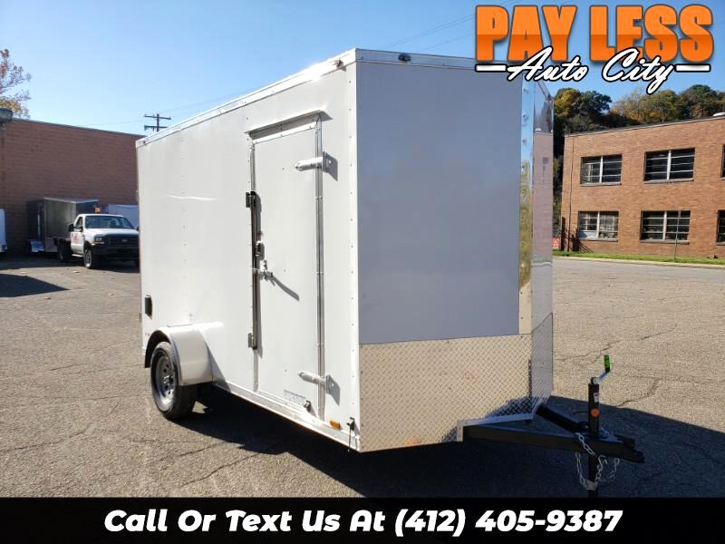 2020 Cargo Mate 6.5x12 E Series, 12'' Extra Height, Ramp Door