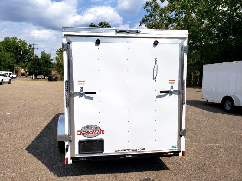 2020 Cargo Mate 6x12 SS, Ramp Door