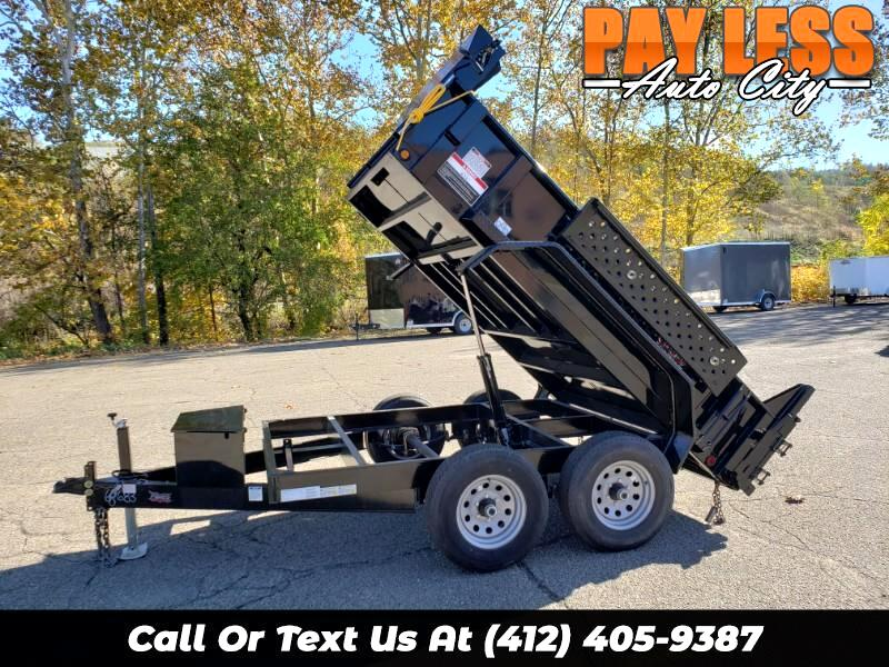 2020 Forest River 6x10 Dump Trailer, 9800 GVW